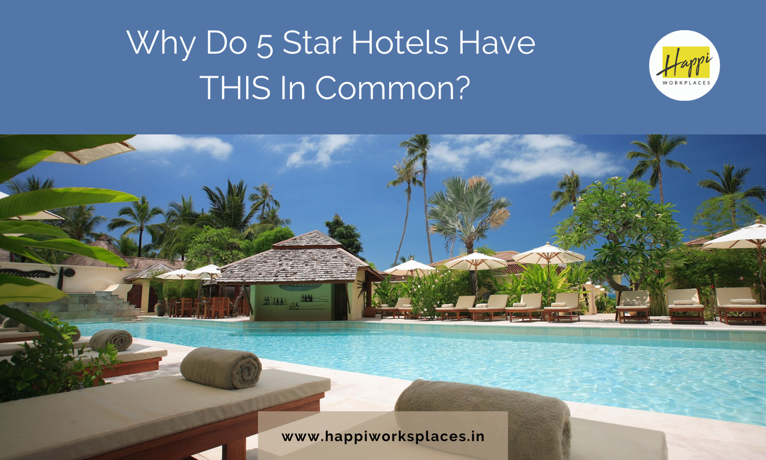 Why Do 5 Star Hotels Have THIS In Common?