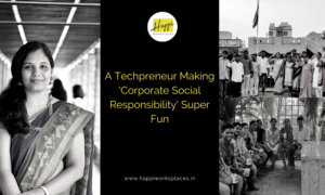 A Techpreneur Making 'Corporate Social Responsibility' Super Fun