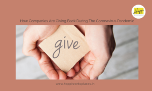 How Companies Are Giving Back During The Coronavirus Pandemic