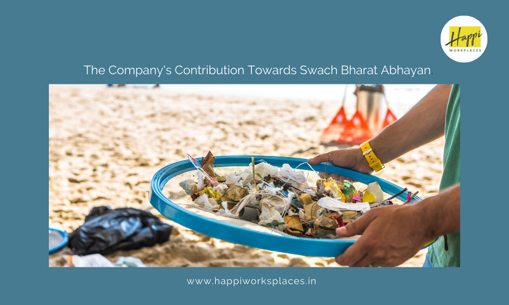 The Company's Contribution Towards Swach Bharat Abhayan